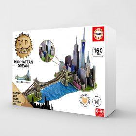 پازل 160تکه Educa مدل سه بعدی  Manhattan Dream 3D Monument